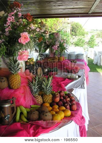 Reception Buffet