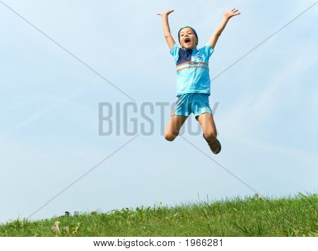 Cheerful Jump