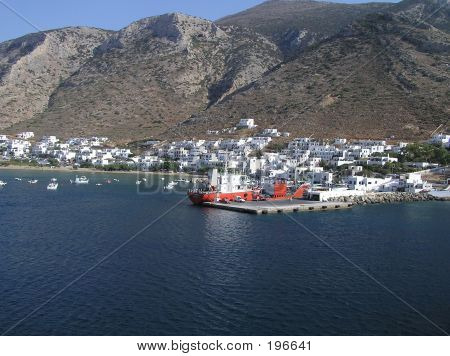 Sifnos Port, Greece