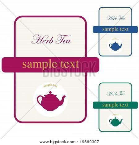 Label Herb Tea