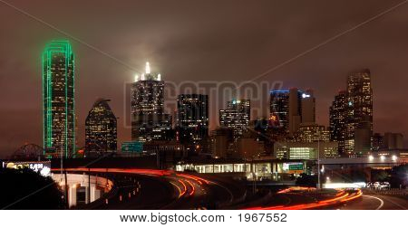 Dallas At Night