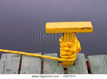 Yellow Bollard