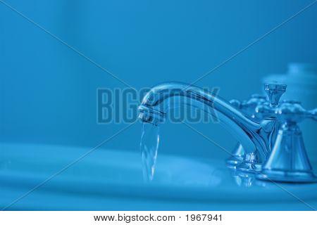 Blue Steel Sink