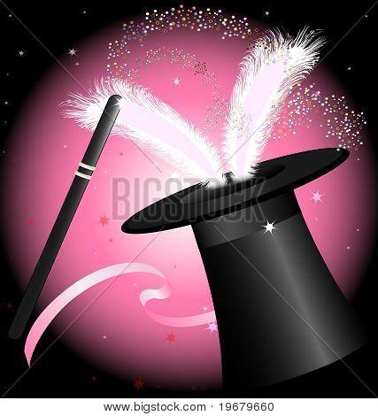 black magic hat