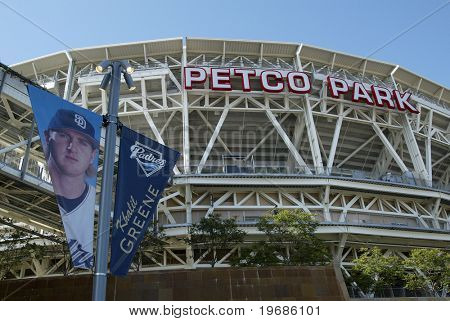 Petco Park Baseball Stadium