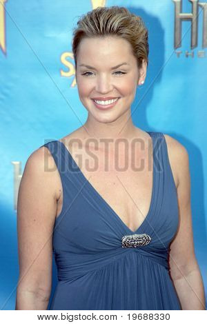 UNIVERSAL CITY, CA - JUNE 24: Actress Ashley Scott attends the 34th Annual Saturn Awards at the Hilton Hotel June 24, 2008 in Universal City, California.