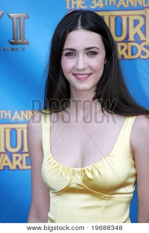 UNIVERSAL CITY, CA - JUNE 24: Actress Madeline Zima attends the 34th Annual Saturn Awards at the Hilton Hotel June 24, 2008 in Universal City, California.
