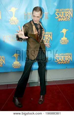 UNIVERSAL CITY, CA - JUNE 24: Actor Doug Jones attends the 34th Annual Saturn Awards at the Hilton Hotel June 24, 2008 in Universal City, California.