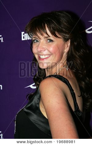SAN DIEGO, CA - July 26: Actor Amanda Tapping attends the annual Comic Con International SciFi Channel party hosted by Entertainment Weekly on July 26, 2008 in San Diego, CA.