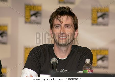 SAN DIEGO, CA - JULY 26: Actor David Tenant, star of BBC's
