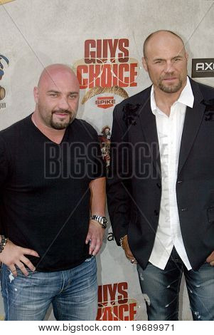 CULVER CITY, CA - JUNE 5: Jay Glazer & Randy Couture arrive at the 4th annual Spike TV's