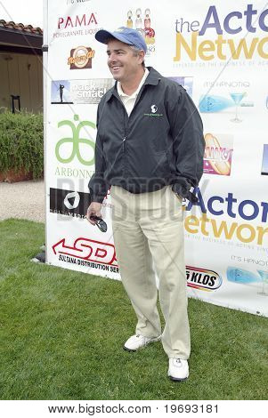 "TARZANA, CA - APRIL 18: Christopher Knight arrives at the 8th annual ""Hack n' Smack, Kerry Daveline Memorial, Celebrity Golf Classic"" on April 18, 2011 in Tarzana, CA"