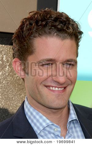 LOS ANGELES - JUL 27:  Matthew Morrison arrives at Fox's