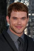 LOS ANGELES - JUL 13:  Kellan Lutz arrive at the Inception Premiere at Grauman's Chinese Theater on