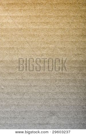 Brown corrugated cardboard sheet background