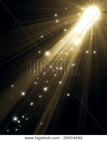 Equipo de iluminación de blanco y negro del proyector