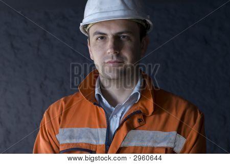 Retrato de mineiro
