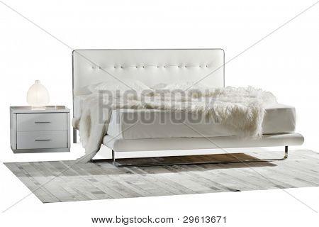 Ausschnitt-Bett