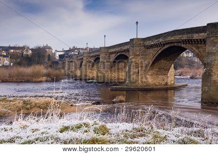 Corbridge In Frost