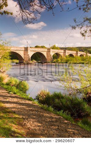 Riverside Path At Corbridge