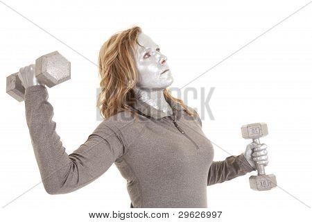 Power Arm Silver
