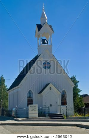 Rural American Country Church