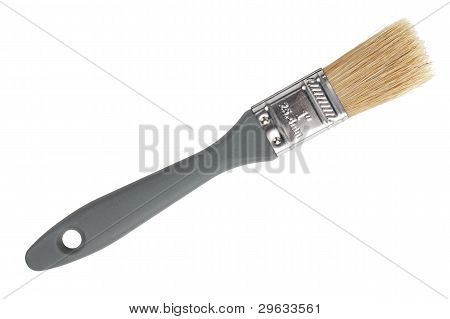 The Thin Paint Brush With Natural Bristles