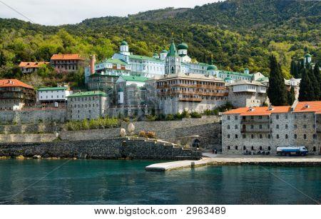 Saint Panteleimon Holy Monastery Mount Athos Halkidiki Greece