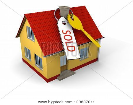 Sold House With Key