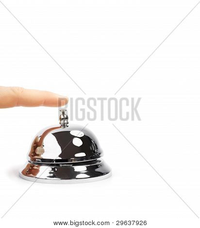 Finger Pushing Service Bell