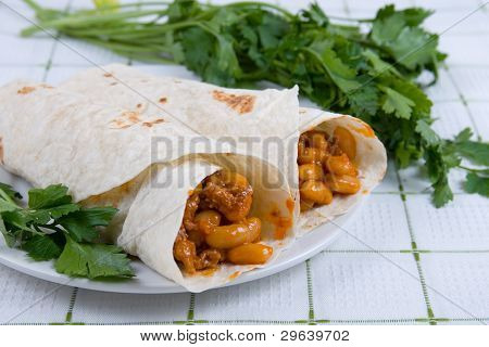 Buritto - Traditional Mexican Food