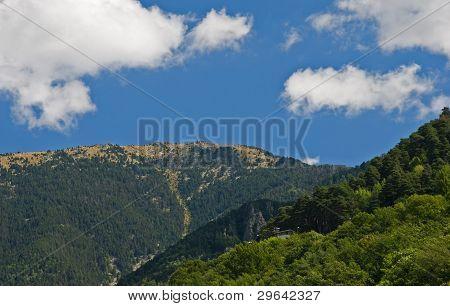 Pyrenees around Andorra la Vella