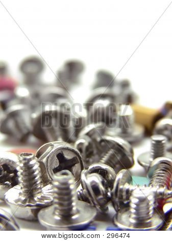 Computer Screws And Jupper Switches