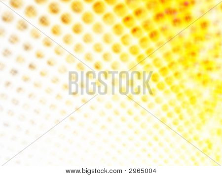Yellow Techno Dots