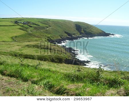 Headland in West Cork, Ireland