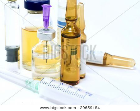 Ampoule, Bottle, Flask