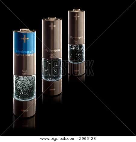 Hydrogen Aa (R6) Batteries