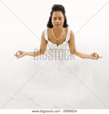 Meditating Bride.