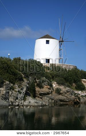 Paros Island, Greece - Old Windmill