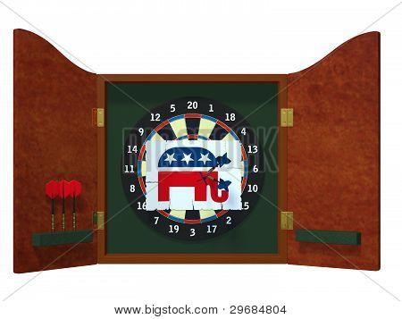 Political Darts - Republican