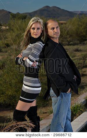Confident Happy Couple