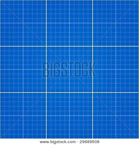 Seamless Blueprint Background