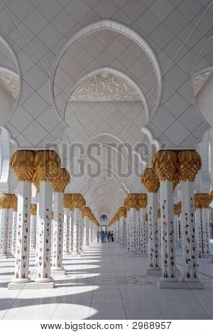 Sheikh Zayed Mosque, Abu Dhabi, Uae, Middle East