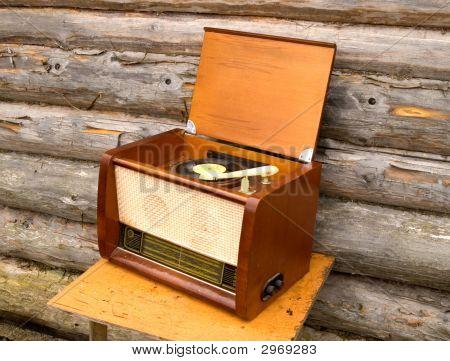 alte Radio gramophone