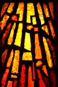 stock photo of stained glass  - Multicolored stained glass - JPG