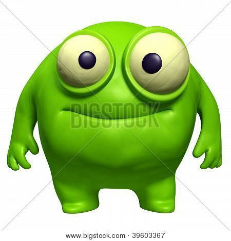 Green Cute Freak