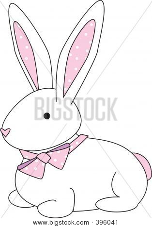 Bunny Polka Dot