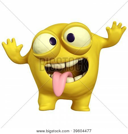 Crazy Yellow Monster