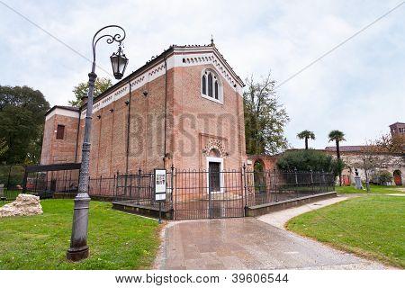 Scrovegni Chapel In Padua, Italy