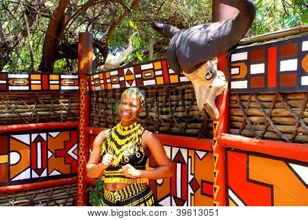 Zulu Woman,South Africa
